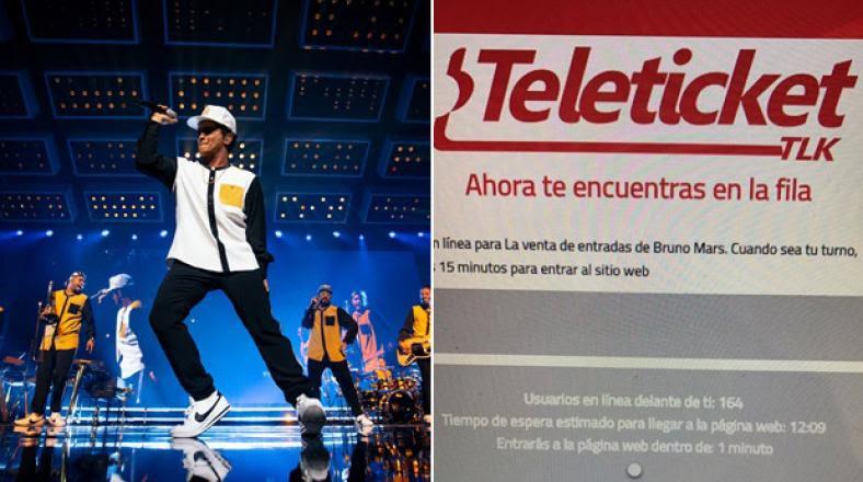 Bruno Mars en Perú: Entradas AGOTADAS